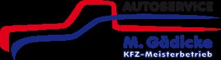 Autoservice M. Gädicke Logo